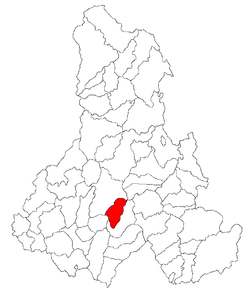 Location of Căpâlniţa