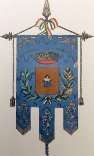 Capizzi - The town of Capizzi coat of arms (Gonfalone della Aurea cite di Capizzi)