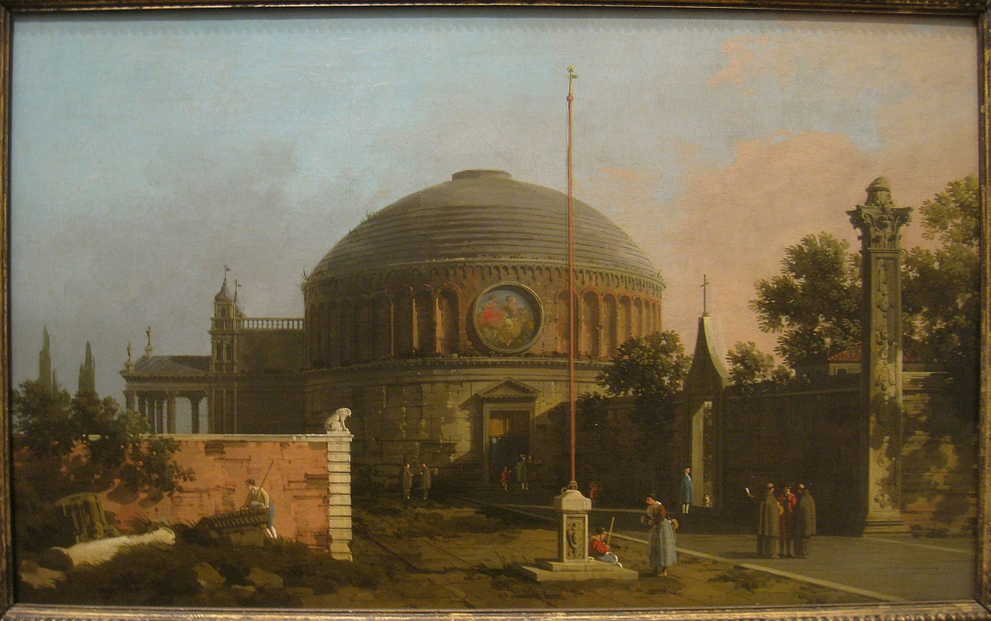 Capriccio: A Circular, Domed Church