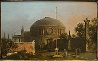 Capriccio - A Circular, Domed Church, by Canaletto (1697-1768) - IMG 7319.JPG