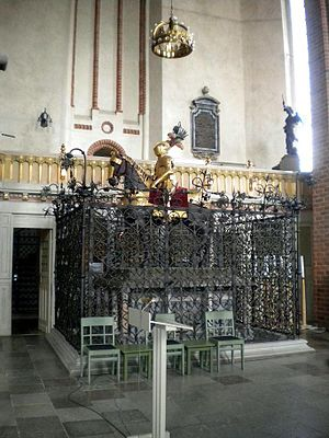 Maria of the Palatinate-Simmern - Princess Maria and her branch of the Vasa Dynasty were interred in Strängnäs Cathedral.