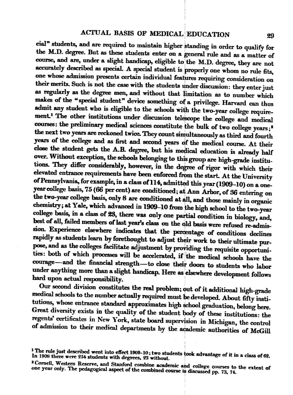flexner report Flexner report: a report, the full name of which is 'medical education in the united states and canada' the 1910 report is named for its author, professional educator abraham flexner, who researched and wrote this report for the carnegie foundation at the time that the report was written, many.