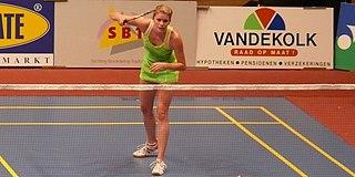 Carola Bott Badminton player