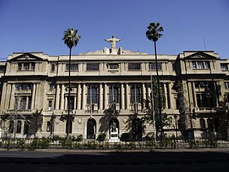 Pontifical Catholic University of Chile - The headquarters of the UC.