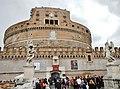 Castel Sant'Angelo - Mausoleo di Adriano - Engelsburg - panoramio.jpg