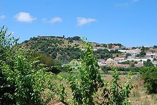 Castle of Aljezur building in Aljezur, Faro District, Portugal