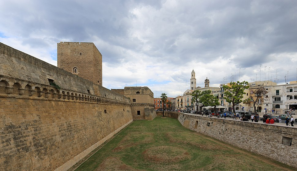 Castle and Old Town of Bari - September 2017