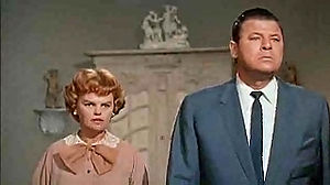 Cat on a Hot Tin Roof (1958 film) - Madeleine Sherwood and Jack Carson