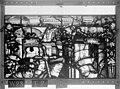 Cathédrale - Vitrail, Chapelle Saint-Joseph, lancette médiane, Légende de saint Romain, cinquième panneau, en haut - Rouen - Médiathèque de l'architecture et du patrimoine - APMH00031280.jpg