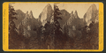 Cathedral Spires, 2,400 feet high. Yo Semite Valley, by John P. Soule.png