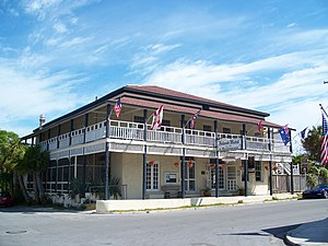 National Register of Historic Places listings in Levy County, Florida - Image: Cedar Key Island Hotel 01