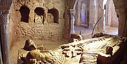 Cenotafio de San Millán. Siglo XII