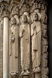 Cenral tympanum Chartres