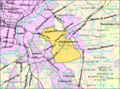 Census Bureau map of Cherry Hill, New Jersey.png