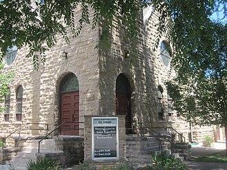 Longmont, Colorado - Central Presbyterian Church at 402 Kimbark in Longmont
