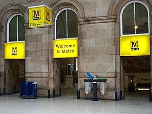 Central Station Metro station - Image: Central Station Metro station, 7 October 2013 (4)
