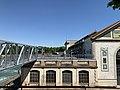 Centrale hydroélectrique de Cusset en mai 2020 - nouvelle passerelle de visite.jpg
