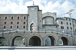 "The ""Porta Giustinianea"" (Gate of Justinian)"