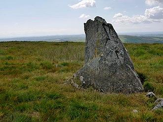 Preseli Hills - Cerrog Lladron Standing Stone