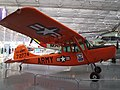 Cessna L-19 Bird Dog(Perdigueiro) - O Cessna L-19 era um avião de ligação e observação. Foi o primeiro avião totalmente metálico de asa fixa para o Exército dos EUA desde que a Força Aérea Amer - panoramio.jpg