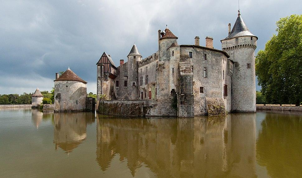 Château de La Brède en Gironde