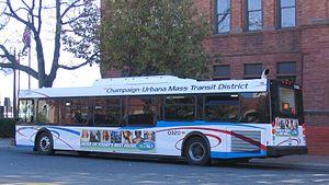 Champaign-Urbana Mass Transit District - Bus 0320