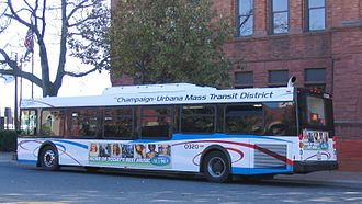 Champaign-Urbana Mass Transit District - Bus 0320