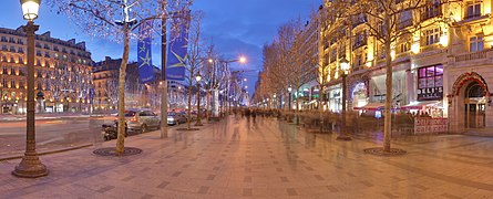 Champs Elysees Paris Wikimedia Commons.jpg