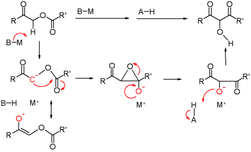 The mechanism of the Chan rearrangement