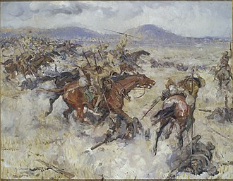 Capture of Afulah and Beisan - Charge of the 2nd Lancers at El Afuli