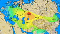 Historical spread of the chariot.