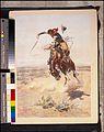 Charles Marion Russell - A bad hoss (1904) original.jpg