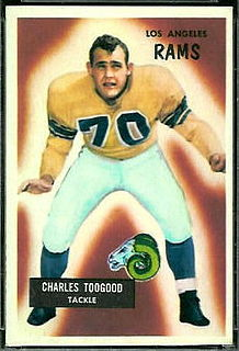 Charlie Toogood American football player