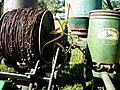 Checkwire Spool on Mechanized Corn Planter.jpg