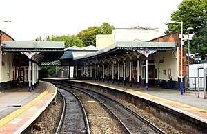 Cheltenham Spa railway station - Cheltenham Spa station
