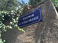 Chemin de Viralamande à Rillieux-la-Pape - plaque.JPG