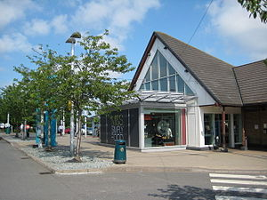 Cherwell Valley services - The former main building