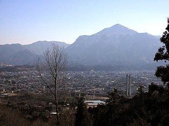 Mount Bukō - Image: Chichibu city