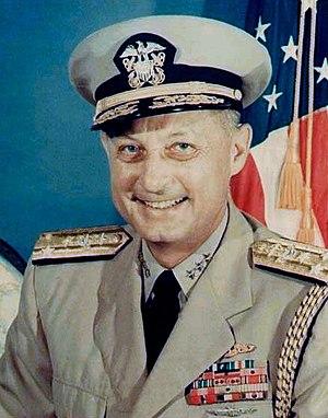 Bernard A. Clarey - Admiral Bernard A. Clarey