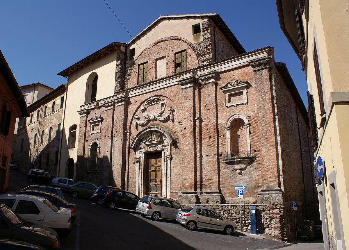Chiesa di sant 39 antonio abate rieti wikipedia for Arredo bimbo sant antonio abate