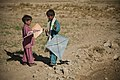 Children playing with kites, Afghanistan - 20121209.jpg