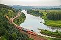 China Railways passenger train K1452 on Binsui railway 20120817.jpg