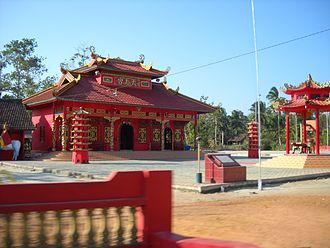 Bangka Belitung Islands - Image: Chinese temple in Air Duren