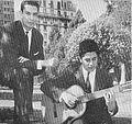 Chito Zeballos (izq) y Luis Amaya (dcha) - ca 1965.jpg