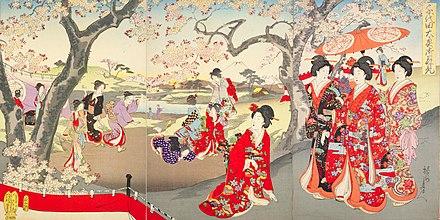japanese seasonal tradition held - 1024×512