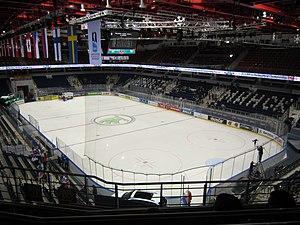 2014 IIHF World Championship - Image: Chizhovka Arena inside 1