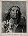 Christ. Line engraving by G.M. Pitteri after G.B. Piazzetta. Wellcome V0034120.jpg