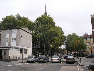area on the Isle of Dogs in Tower Hamlets in London, England