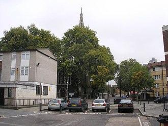 Cubitt Town - Image: Christ Church, Cubitt Town geograph.org.uk 583408