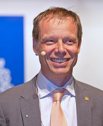 Christer Fuglesang - Christer Fuglesang at the Royal Institute of Technology Alumni of the Year award ceremony in Stockholm 2012